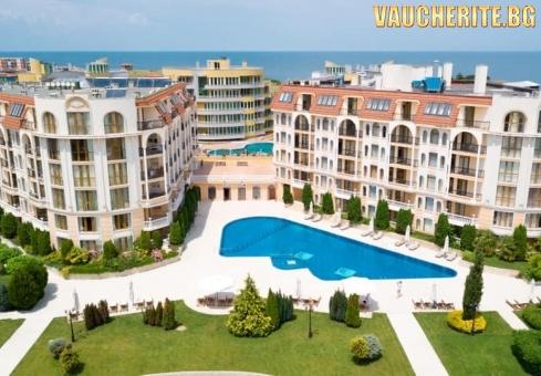 Нощувка + басейн, детски клуб и интернет от хотел Аполония Палас, на 50м от плажа в Синеморец