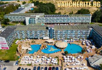 All Inclusive + 3 басейна, чадър и шезлонг и мини аквапарк от хотел Котва, Слънчев бряг на 250 м. от плажа