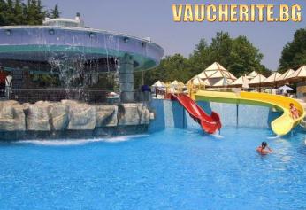 All Inclusive + открит басейн, чадър и 2 шезлонга НА ПЛАЖА от хотел Магнолия Плюс, Албена