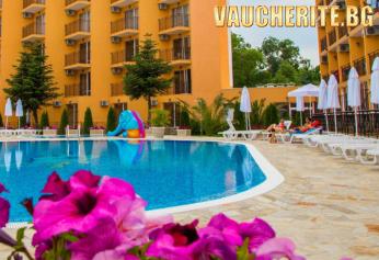 All inclusive + ползване на басейн, чадър и шезлонг около басейна от хотел Рива, Сл. бряг на 120м. от плажа