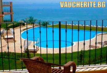 All Inclusive + пет басейна с чадъри и шезлонги, интернет и паркинг от комплекс Калиакрия, Каварна, на метри от плажа