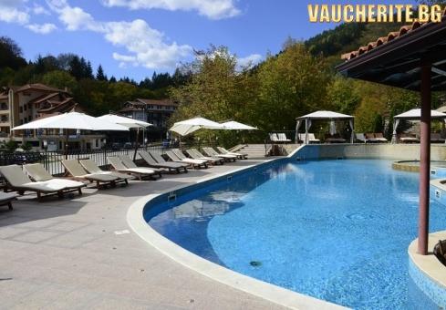 3, 5 или 7 нощувки със закуски и вечери + минерални басейни и релакс зона от хотел Алфарезорт Палас, с. Чифлик