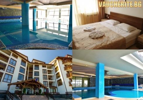 Закуска, обяд и вечеря +външен и вътрешен басейн от хотел Белведере, Банско