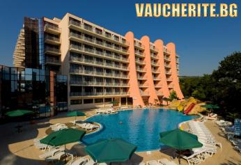 All Inclusive + външен и вътрешен басейн, фитнес, АНИМАЦИЯ, паркинг и интернет от хотел Хелиос СПА, Златни пясъци