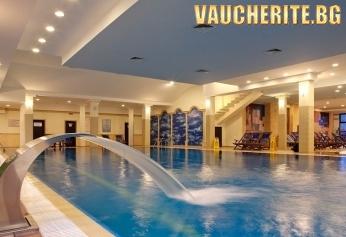 Закуска и вечеря + минерални басейни и СПА център от Гранд хотел Велинград