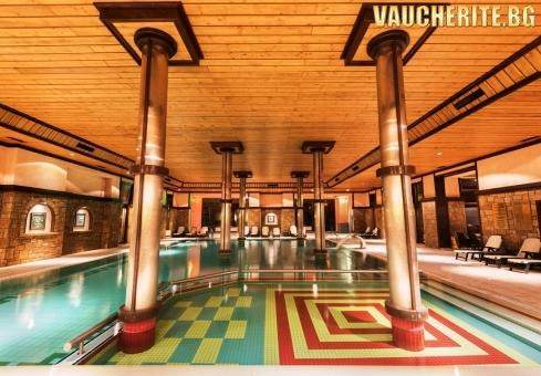 Закуска + СПА център и минерални басейни от хотел Макси Парк Хотел и СПА, Велинград