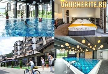 Закуска, закуска и вечеря или All Inclusive Light + минерален басейн, сауна, солна сауна и парна баня от хотел 3 планини, Разлог