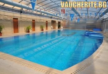 Закуска или закуска и вечеря + 25-метров минерален басейн и СПА център от хотел Армира, Старозагорски минерални бани