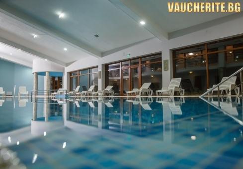 Закуска или закуска и вечеря + отопляем басейн и СПА център от Парк хотел Панорама, Банско